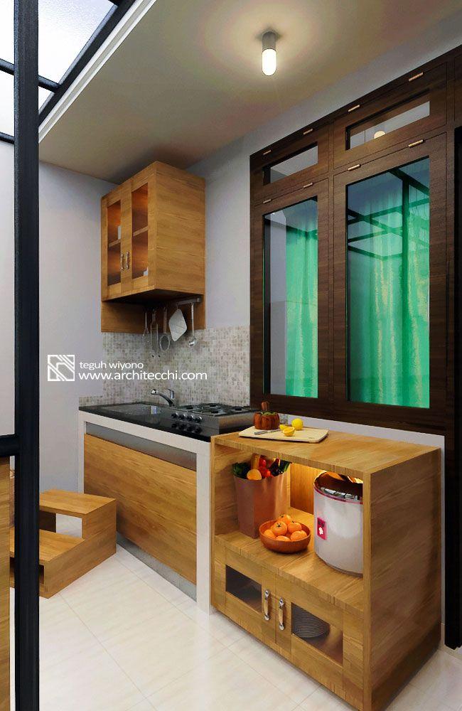 arsitektur desain interior mini kitchen banung s house interior rh pinterest com