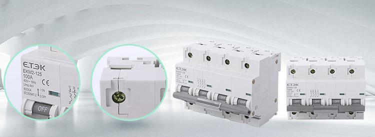 Ekm2 125 6ka Mcb Economy China Manufacturer China Zhejiang Etek Electrical Circuit Diagram Electricity Circuit