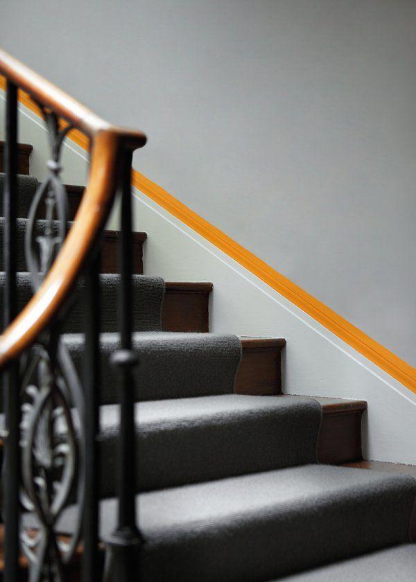 Couleurs Grey Teal / Marigold \u2013 Little Greene Corridor, Staircase