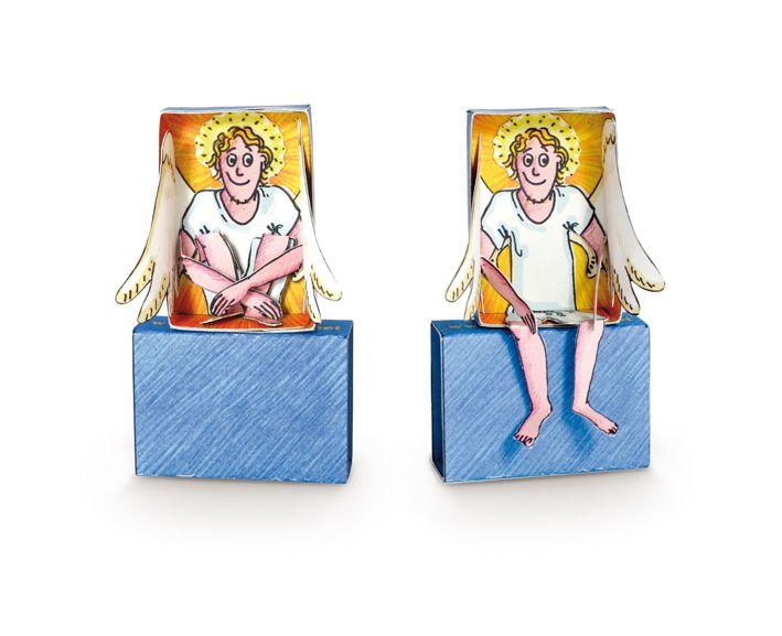 """Bastelbogen """"Taschen Engel"""" von Die Kreatur / für dörte"""