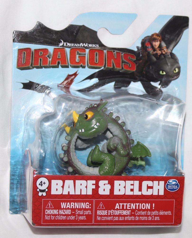 Spin Master Dreamworks How To Train Your Dragon Action Figure New Boxed