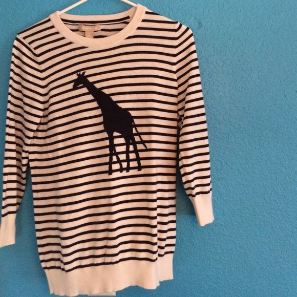 9558e9859 Banana Republic giraffe sweater Size Small, Banana Republic giraffe  sweater. Very comfy, perfect for early spring brunches! Great condition,  worn only a few ...