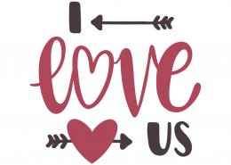 I love us | Labels | Cricut creations, Silhouette cameo