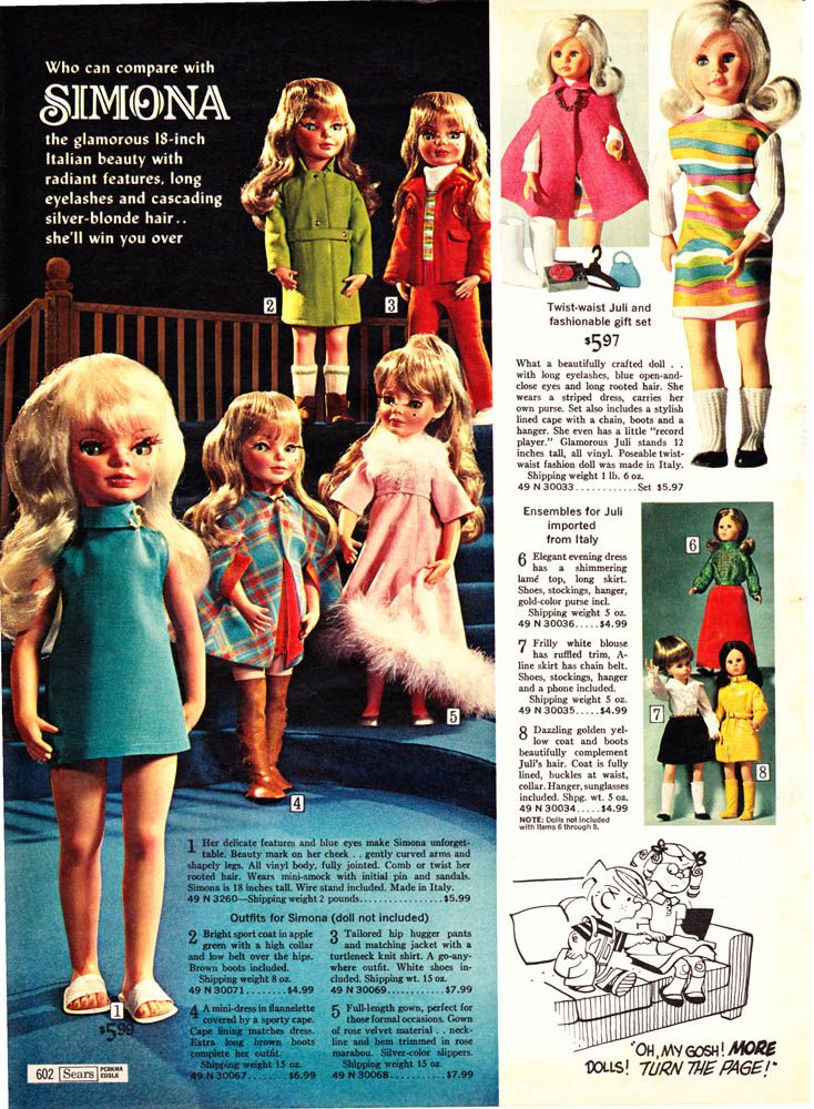 Who Can Compare With Simona 1968 Sears Wish Book 602