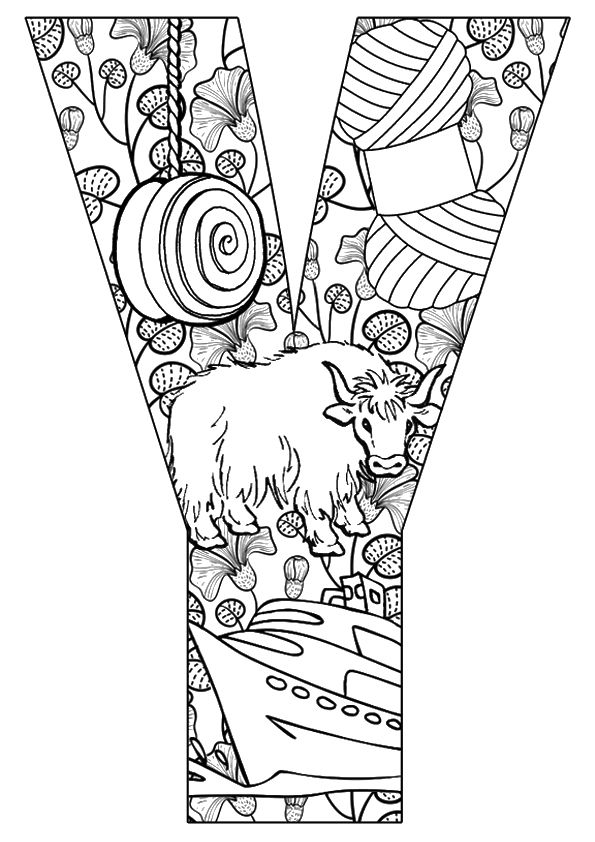 Print Coloring Image Momjunction Abc Coloring Pages Abc Coloring Coloring Pages