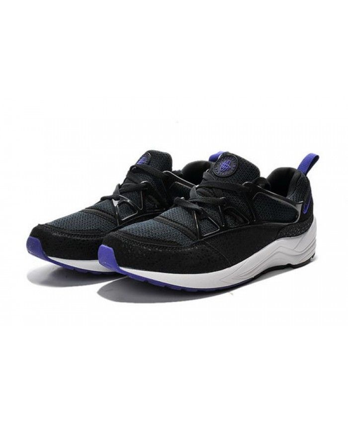 finest selection 87a60 9d923 Womens Nike Air Huarache Light Black Purple UK Sale Shoes SK-1323