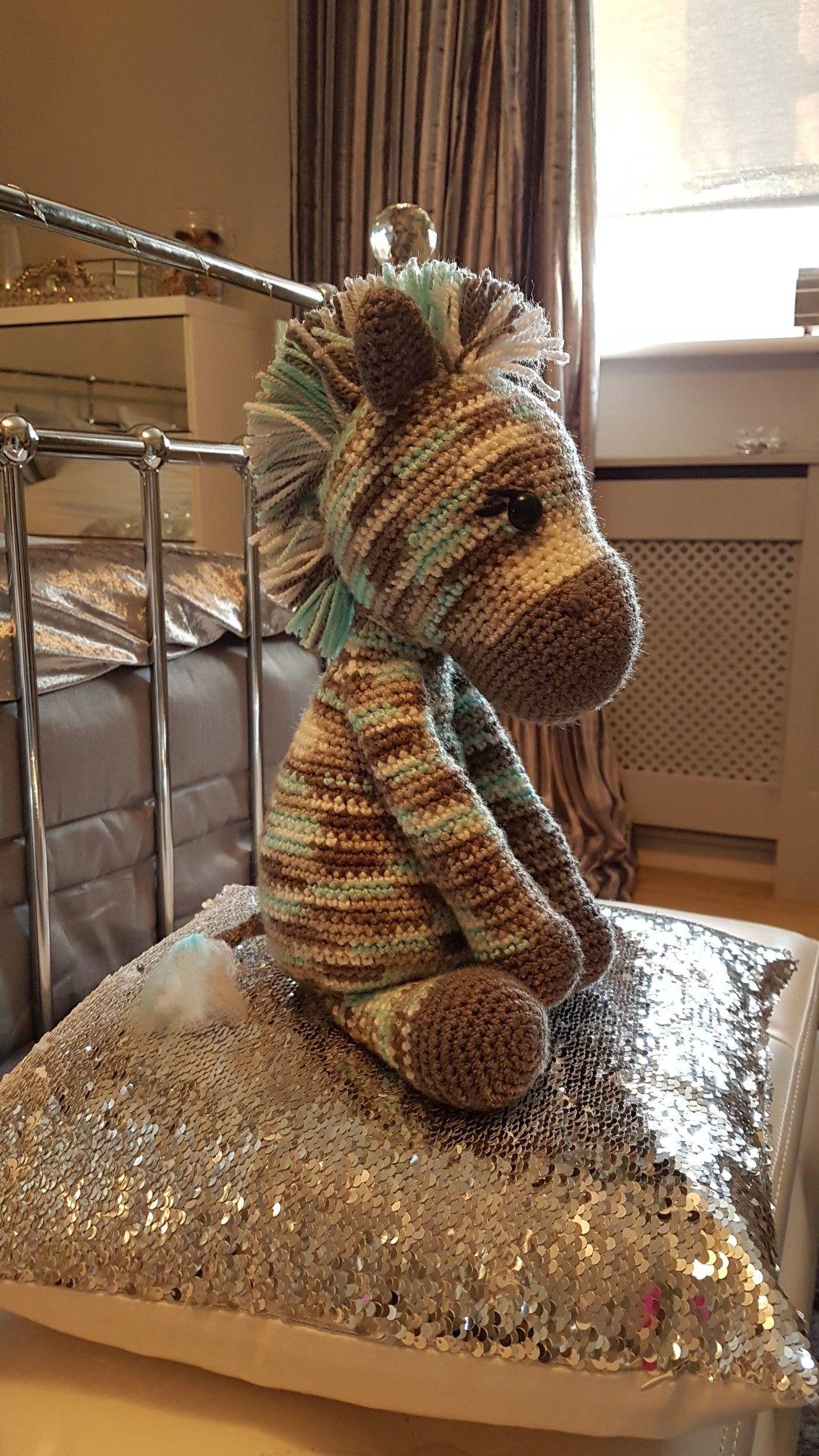 Little boy crocheted zebra pattern by Kristel Droog ...