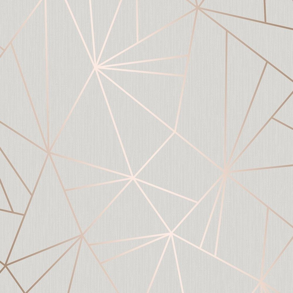 Camden Apex Glitter Wallpaper Rose Gold Glitter