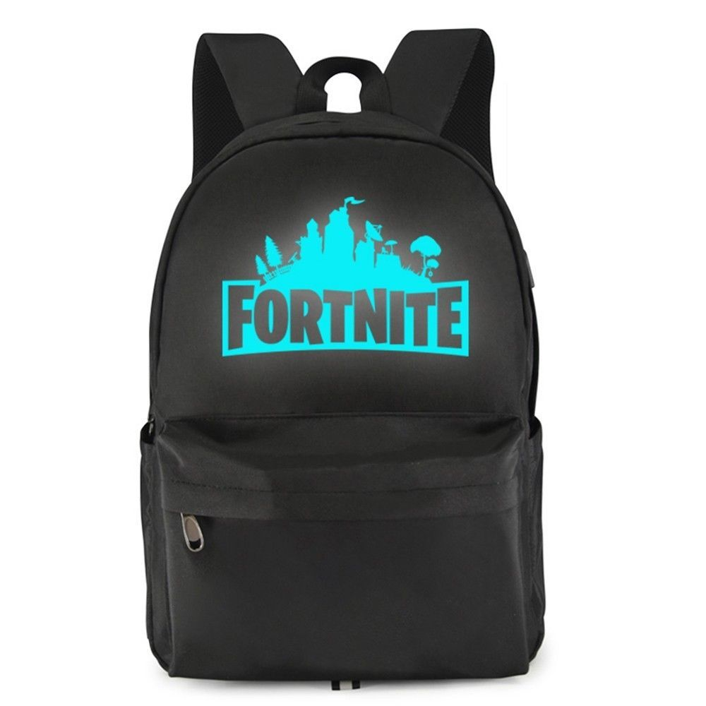 Fortnite Night Game Waterproof Night Luminous School Bag Fortnite