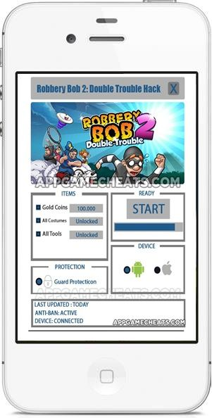 New Robbery Bob 2 Double Trouble Hack Cheats Download Working Tool