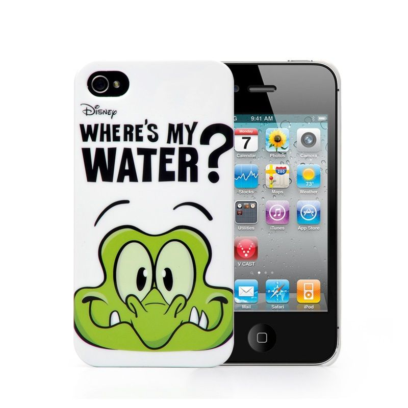 Where's My Water Protective Plastic Case for iPhone 4/4S (White) ,Best personalized gifts for him or her on Yoyoon.com