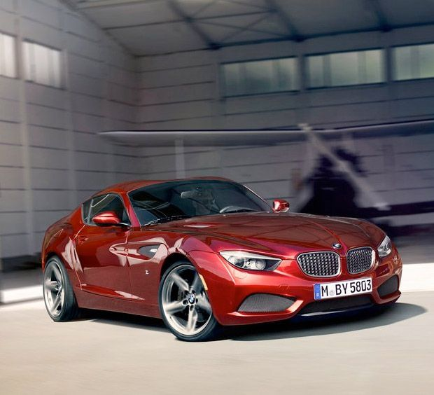 BMW Zagato Coupe... Right Next To My Mercedes... I Love