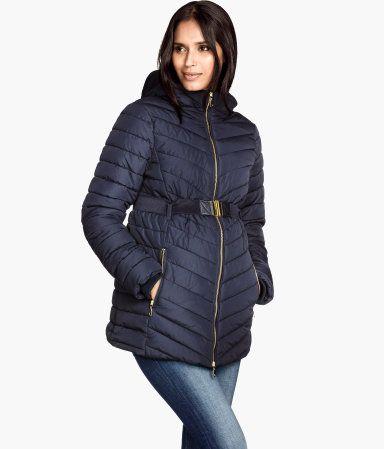 H M Mama Padded Jacket 59 95 Fashion Maternity Winter Coat Jackets