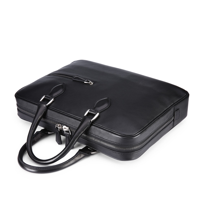 549.00$  Know more - http://aixkp.worlditems.win/all/product.php?id=32744870951 - TERSE_Wholesale price handmade leather bags real leather fashion black color laptop bag briefcase custom logo service OEM ODM