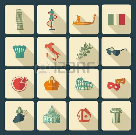 48524739-simboli-tradizionali-di-italia.jpg (450×445)