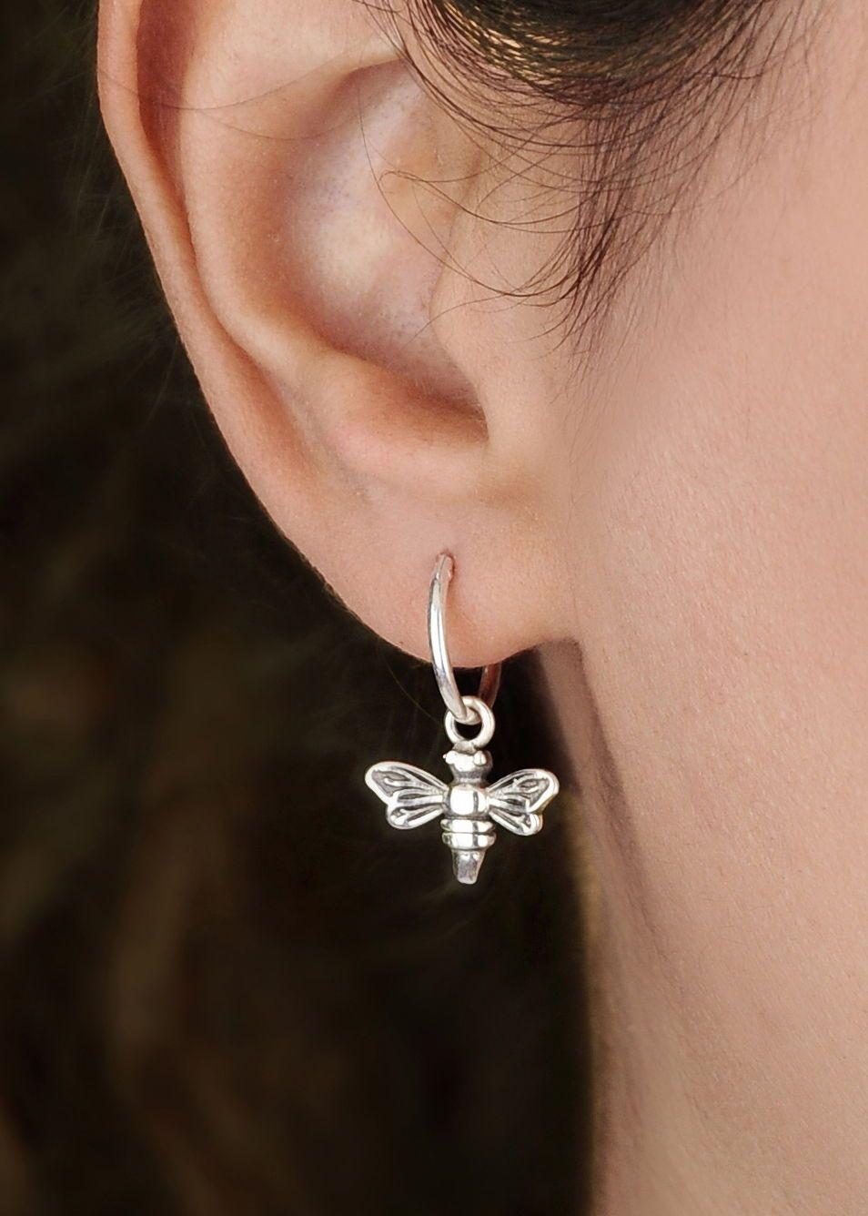 Handmade. Tiny Sun Dangle Earrings.Metal earrings.Circle Drop Earrings.Silver.Small earrings.Clip On Earrings.Bridal.Floral.Sun Charm.Gift