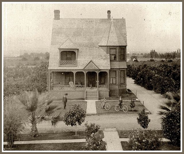 Haunted Places In Whittier California: 1898-Home And Groves Of Arthur L. Reed, Whittier