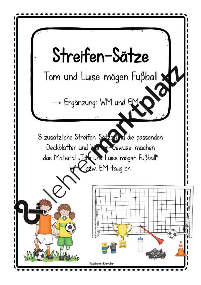 streifen s tze bestseller deutsch sek i ii unterrichtsmaterialien einfache s tze. Black Bedroom Furniture Sets. Home Design Ideas