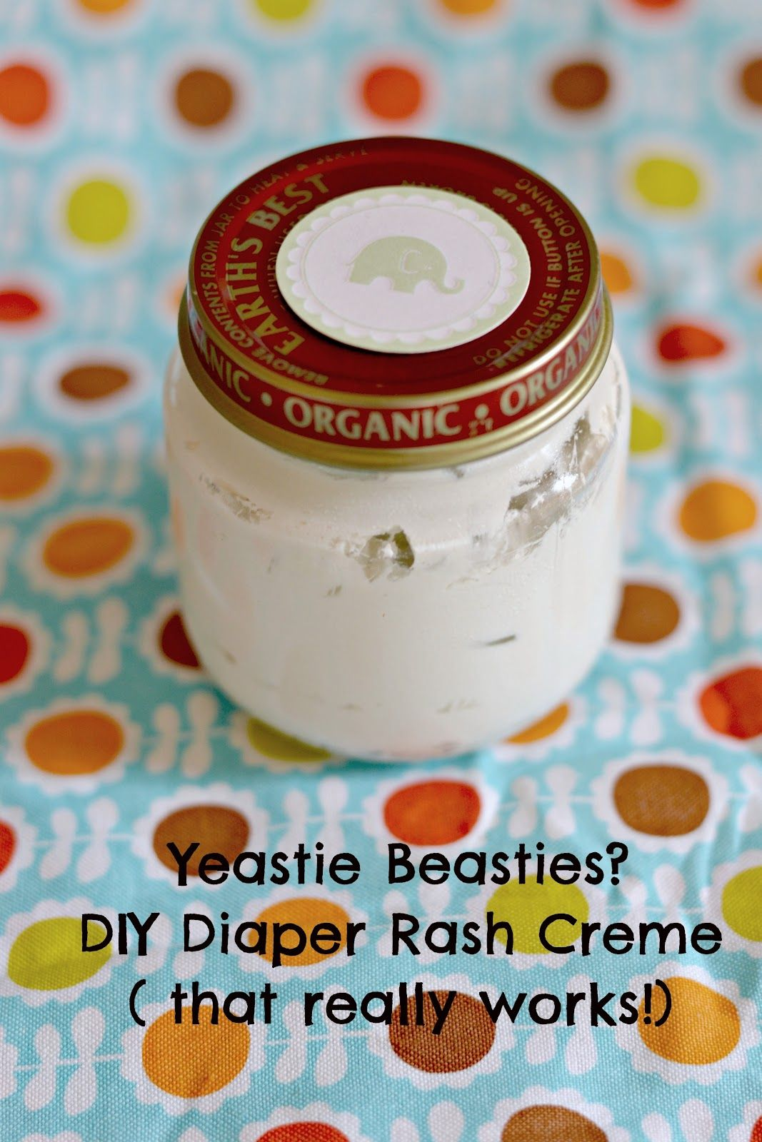 Beat the Yeastie Beasties Yeast diaper rash, Baby