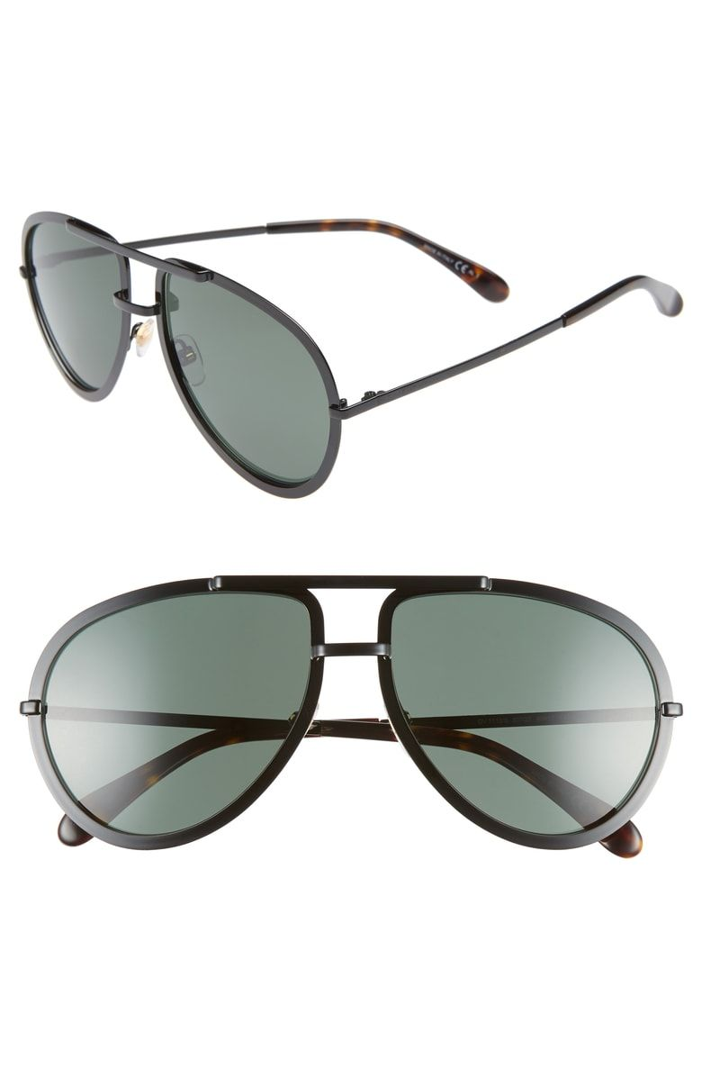 54186cd4af GIVENCHY MEN S FULL-RIMMED METAL AVIATOR SUNGLASSES.  givenchy ...