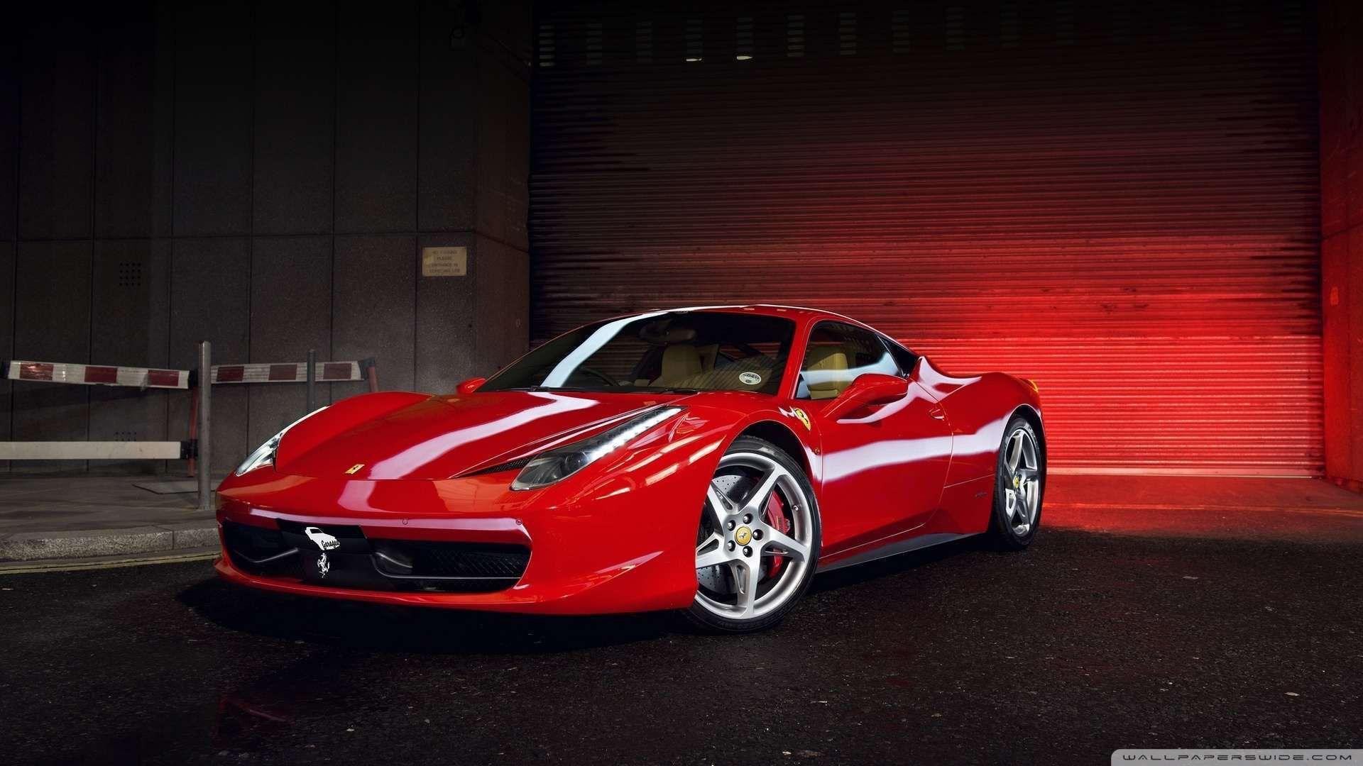 Ferrari 1080p Wallpaper Dengan Gambar