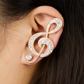 Musical Note Ear Cuff This Is Just Too