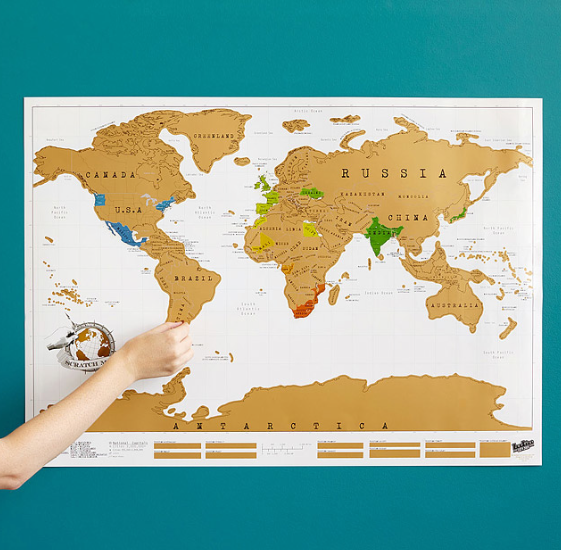 Wonderful 15 Cheap And Super Creative Ways To Decorate Your Home With Maps Pictures