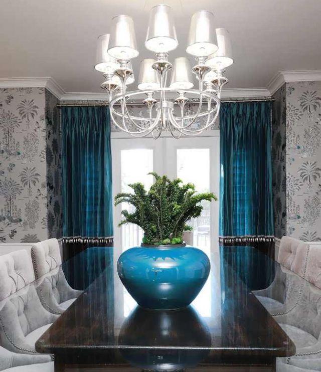 25 Elegant And Exquisite Gray Dining Room Ideas: Dining Room Colors, Elegant Dining