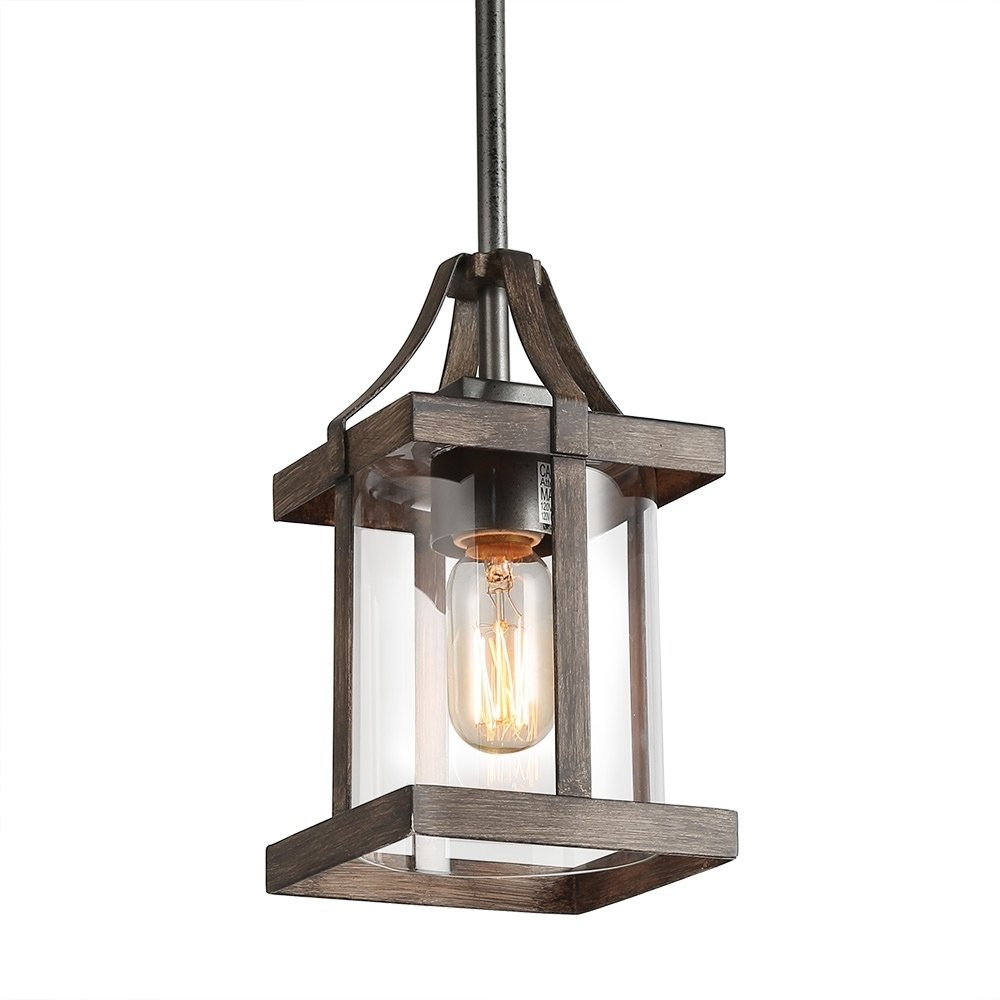30 Yue Jia Rustic Lantern Pendant Lamp Industrial Vintage Style Glass Shade Lighting Fixture For Living Dining R Lantern Pendant Lighting Lamp Rustic Lanterns