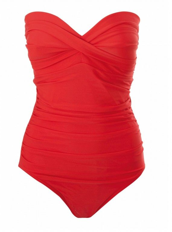 cbed64d864675 Biba Goddess Swimsuit Red - House of Fraser | My Style Umami | Fashion, Red  swimsuit, Swimsuits