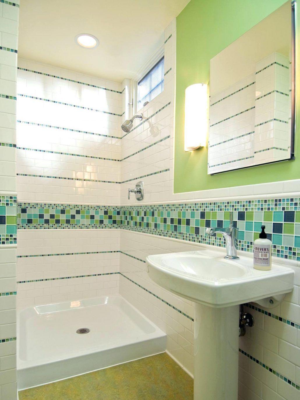 Tiles Light Green Bathroom Floor