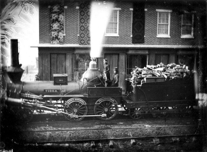 Philadelphia Amp Columbia R R Locomotive Tioga Built By