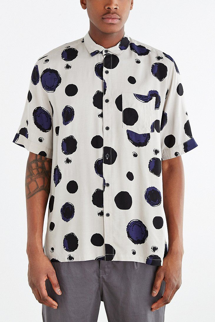 Flannel shirt and shorts men  Your Neighbors ShortSleeve Kieran ButtonDown Shirt  Urban