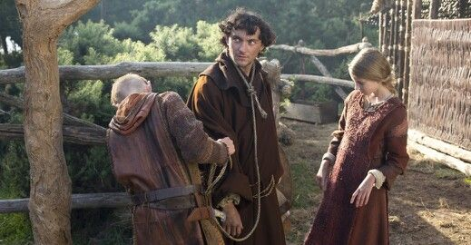 Bjorn and Gyda with Athelstan