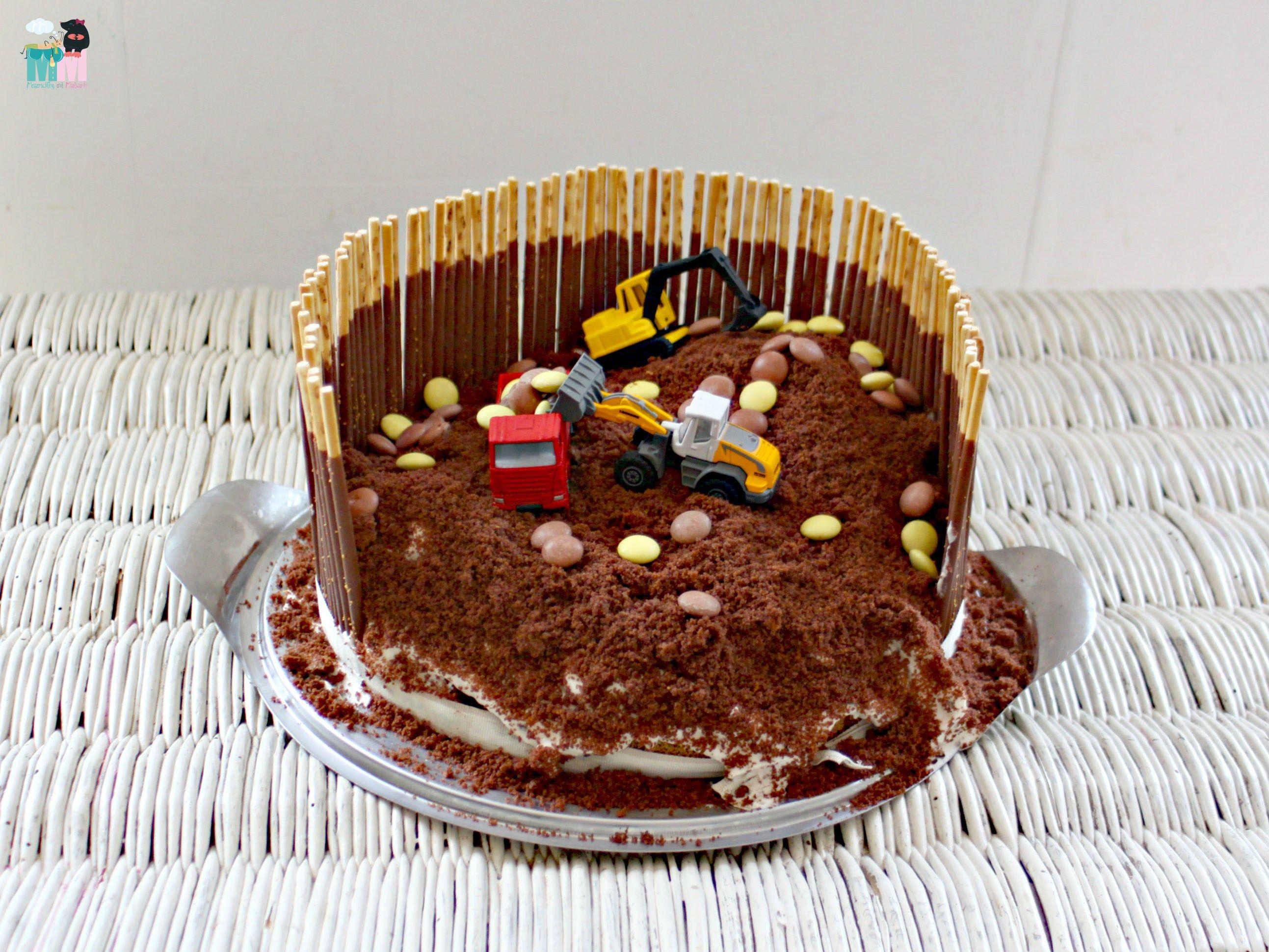 Bagger Kuchen Idee Idiotensicher Metterschling & Maulwurfn