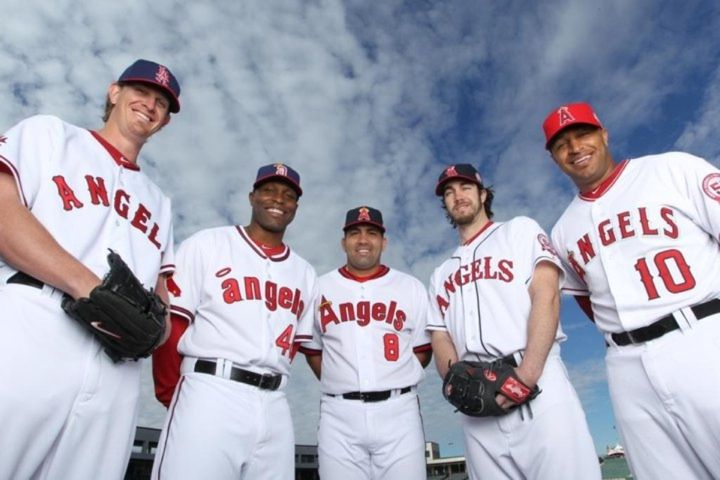 Angels Throwback Uniforms