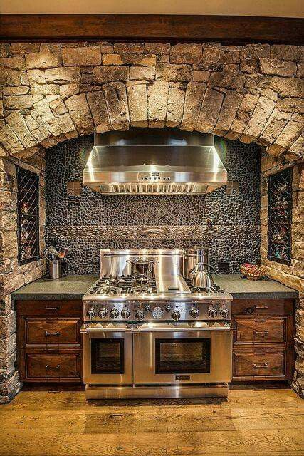 Very Nice Kitchen Rustic House Country House Decor Rustic Kitchen