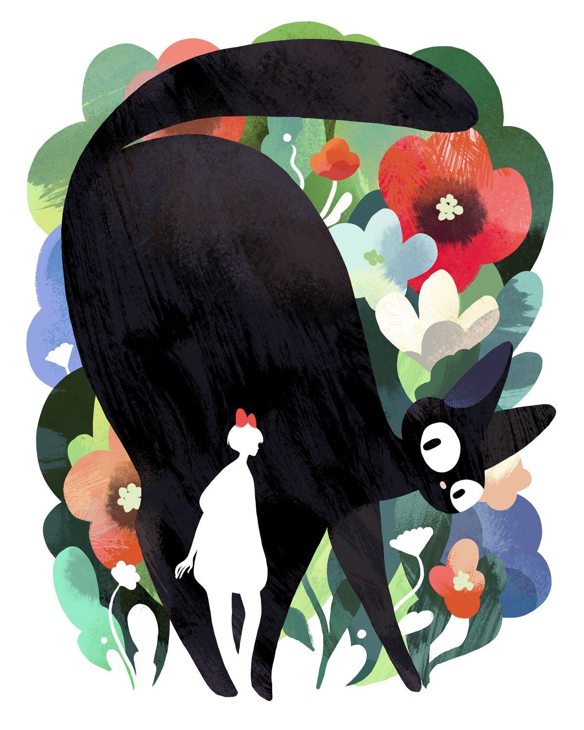 Check out this behance project jiji in the flowers