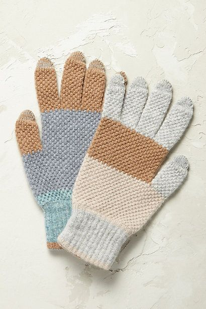 Anthropologie EU Tundra Lambswool Gloves