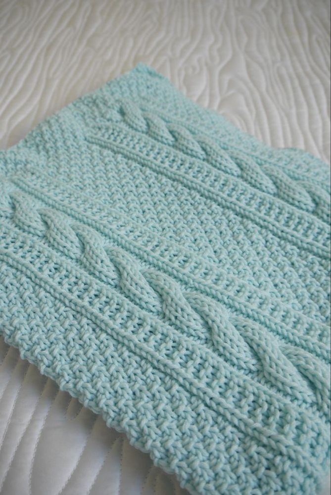 Baby Blanket Knitting Patterns Free Downloads Uk Awesome ...