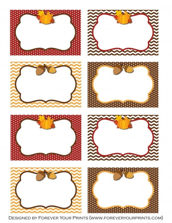 Free Thanksgiving Printables From Forever Your Prints Free Thanksgiving Printables Thanksgiving Place Cards Thanksgiving Name Cards