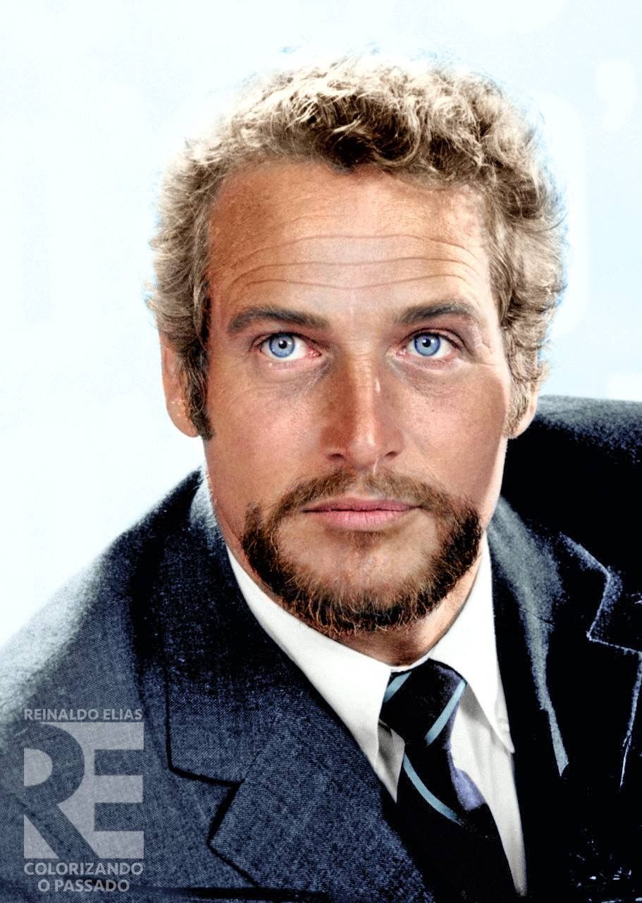 Paul Newman, great color photo of him | Paul Newman in ...