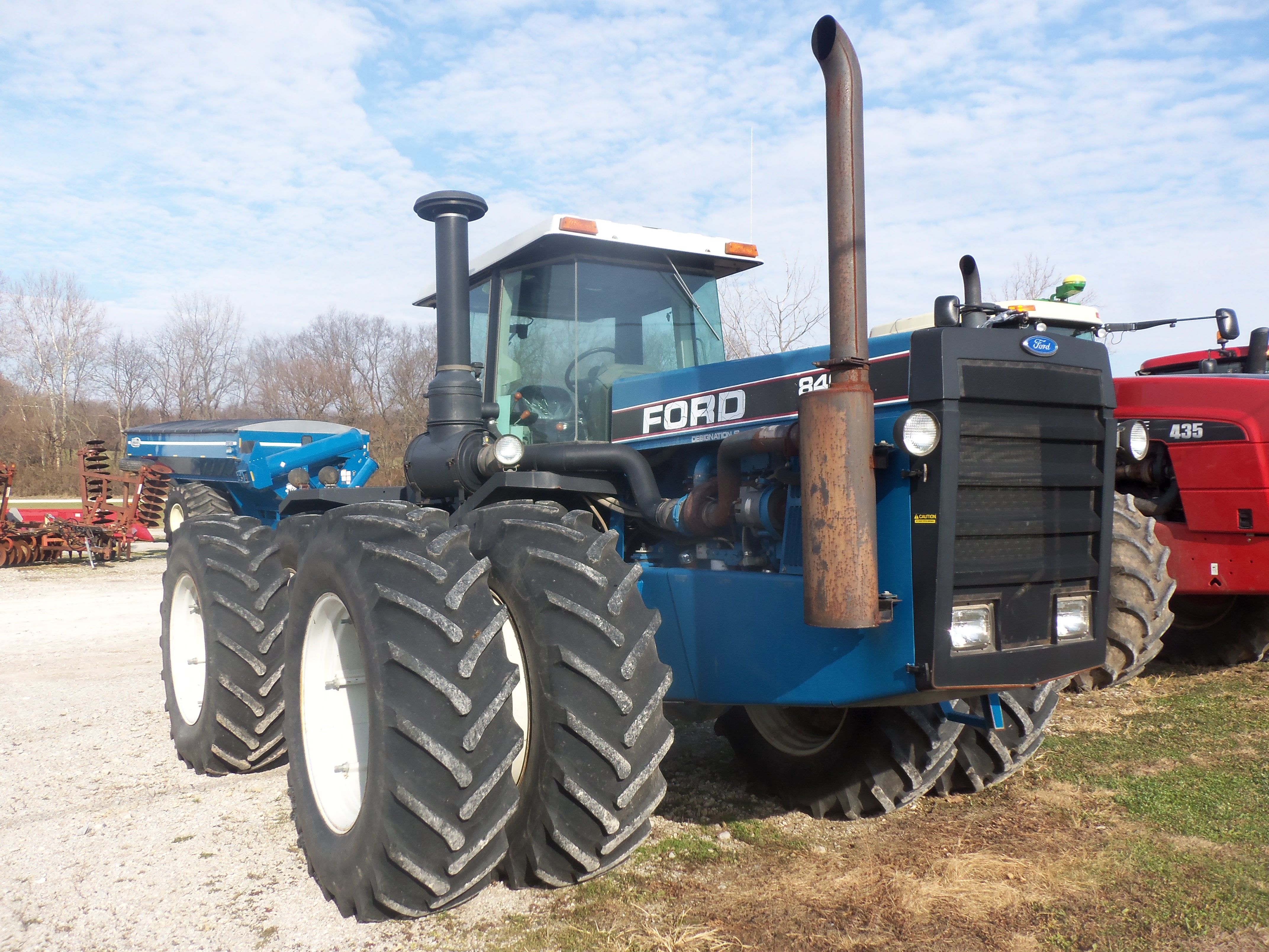 Ford 9600 Ford Tractors New Holland Tractor Vintage Tractors