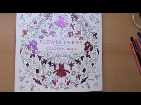 flip through - durchblättern coloring book the flower