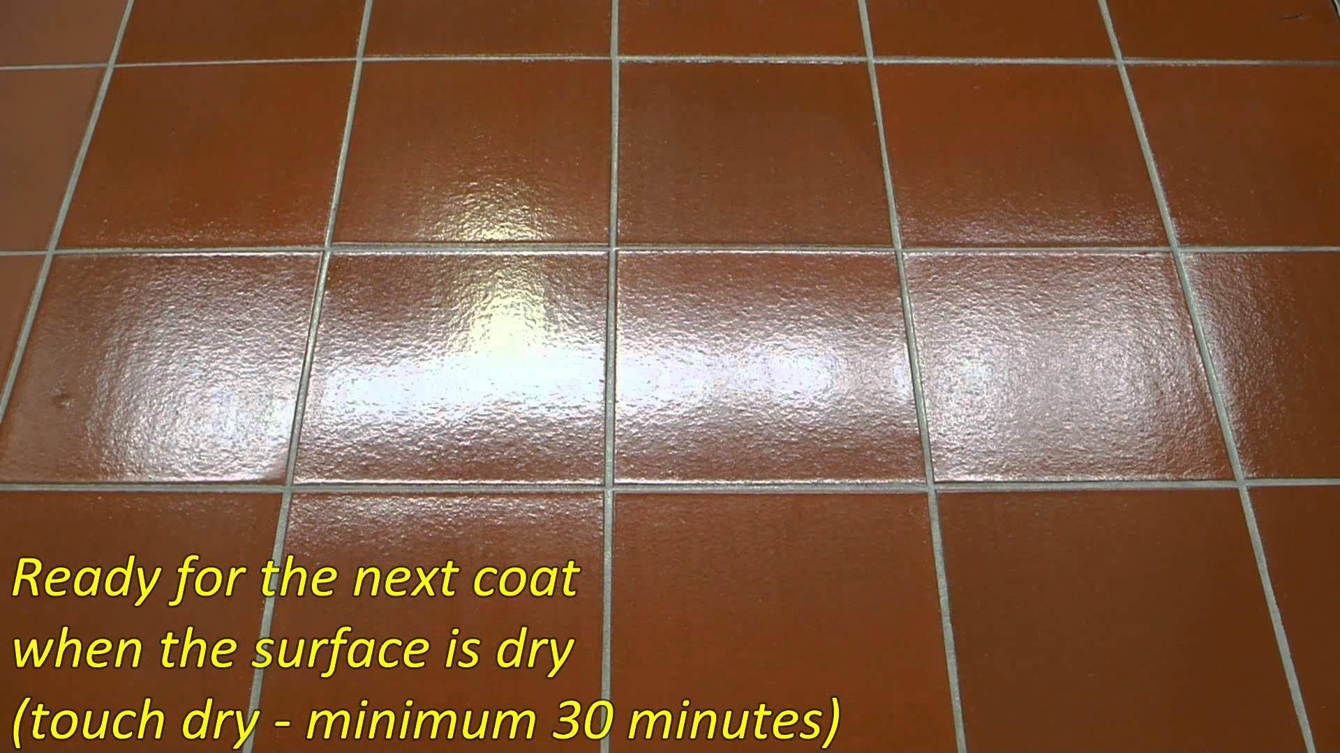 How To Apply A High Gloss Finish Aquashine Fp Aqua Seal Stc Ceramic Tiles Ceramic Floor Tile Cleaning Ceramic Tiles