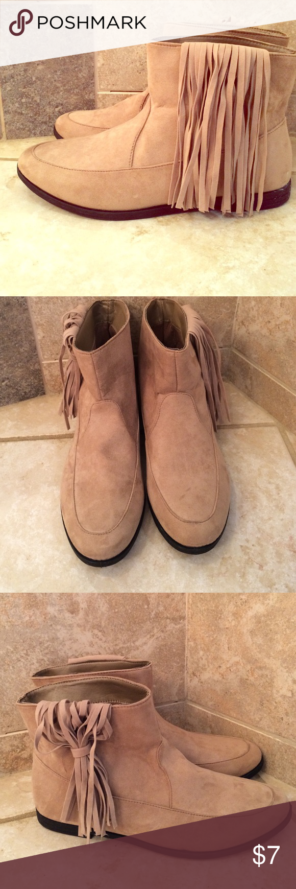Moccasin Boots Brand New w/o tags size 7/8 Ect. Shoes Ankle Boots & Booties