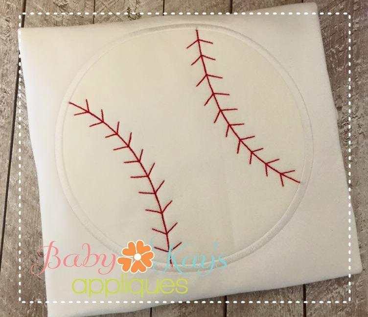 Baby Kay's Appliques - FREE Simple Baseball 4x4, 5x7, 6x10, 8x8, $0.00 (http://www.babykaysappliques.com/free-simple-baseball-4x4-5x7-6x10-8x8/)