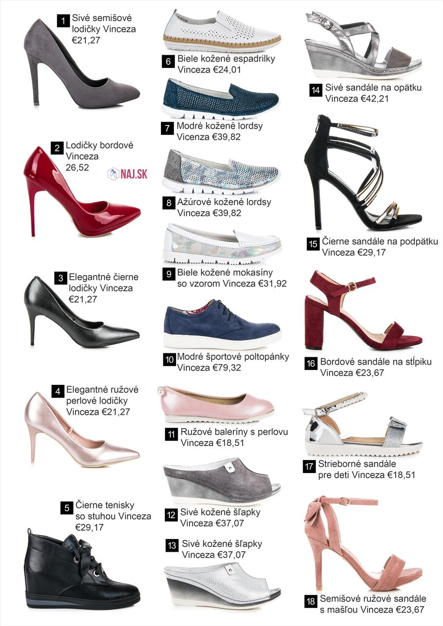 9df9dab94ef0 Nová jarná kolekcia obuvi Vinceza