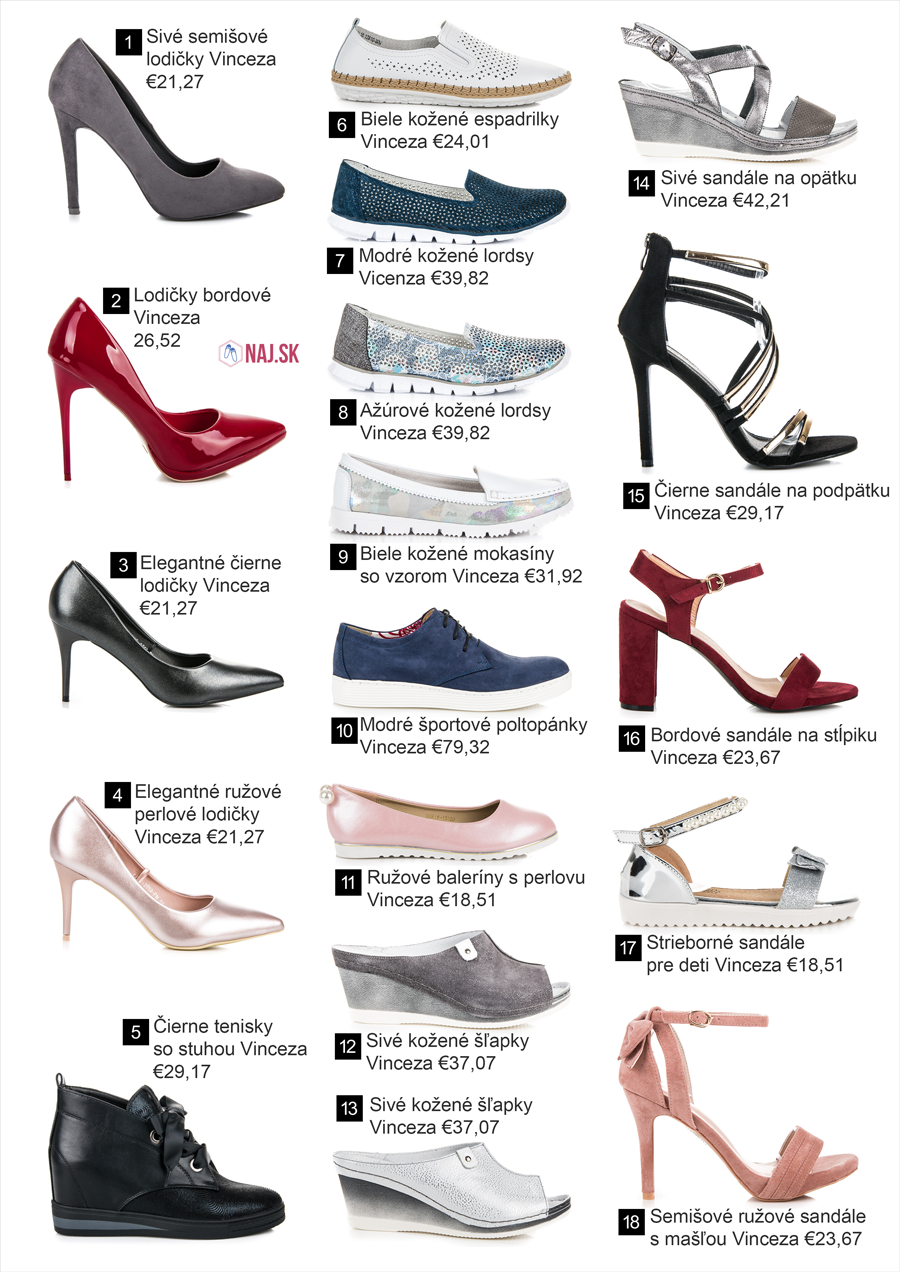 bc5655c09f Nová jarná kolekcia obuvi Vinceza