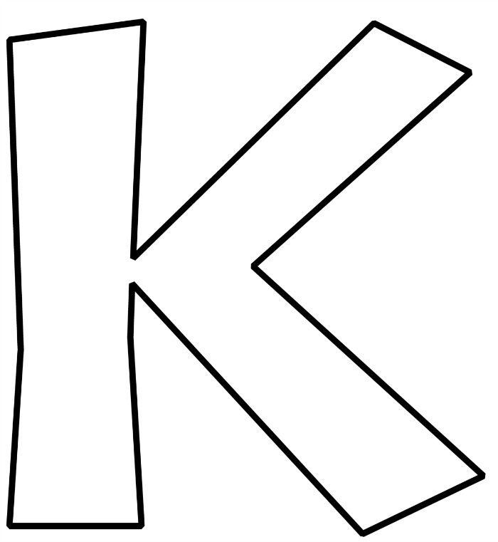Free Printable Bubble Letters Alphabet Sewing Bubble Letter K